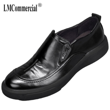 High Quality Genuine Leather loafer Driving shoes men soft all-match cowhide Business Mens Shoes Men Dress spring autumn
