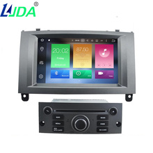 LJDA Octa Cores Auto Radio Android 6 0 1 Car DVD Player For PEUGEOT 407 GPS