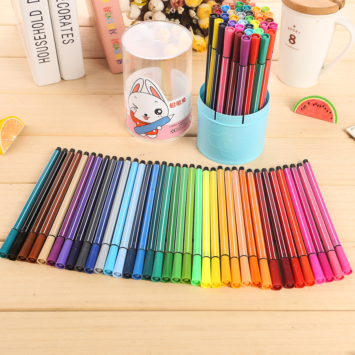 36 color/set can water wash watercolor pen children painting paintbrush Art supplies Barreled drawing tools Cartoon Graffiti Pen children s paintbrush sets painting supplies painting tools children crayon watercolor pen art stationery 110 pieces set