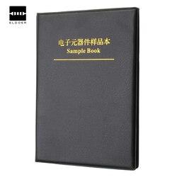 Weerstand Condensator Spoel Leeg SMD Componenten Lege Sample Boek Voor 0402/0603/0805/1206 Elektronische Component
