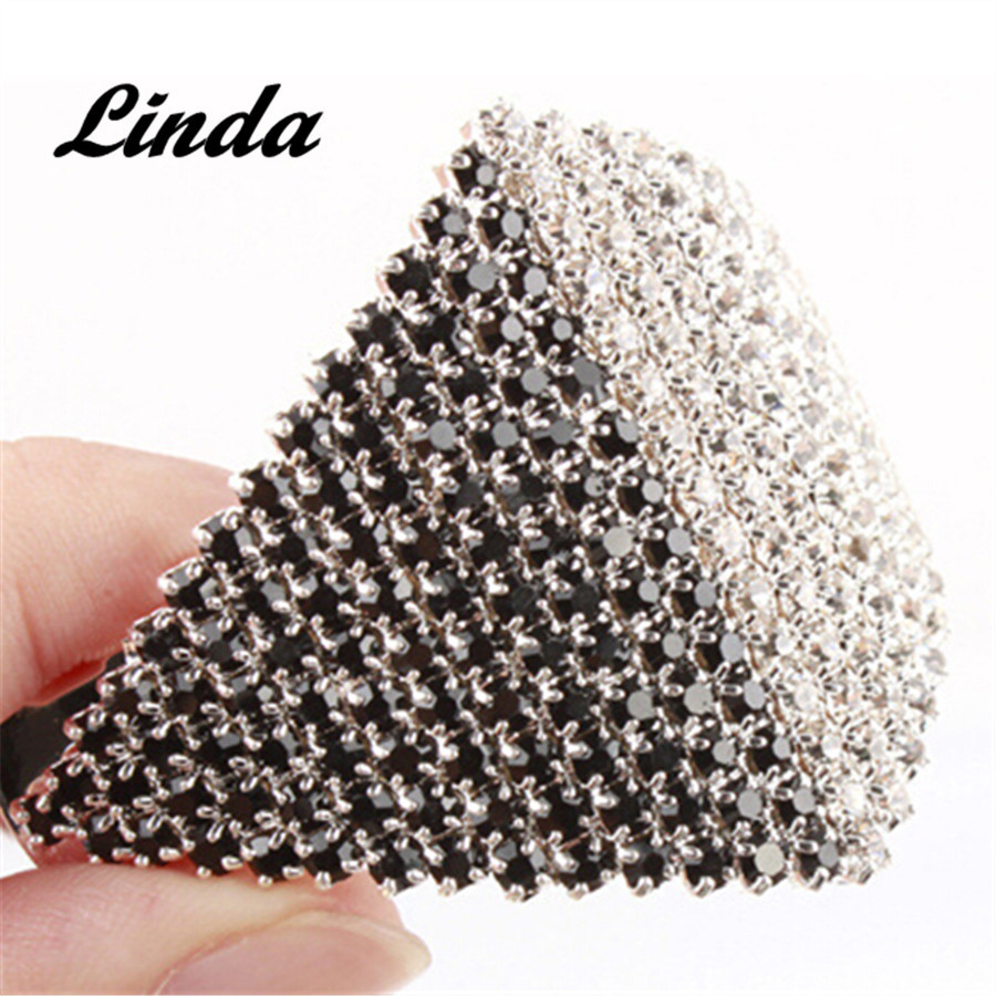 Hot Sale Crystal White Rhinestone Rhombus Vintage Hair Clip Simple Barrette for Hair Silver Ponytail Barrette RY003 все цены