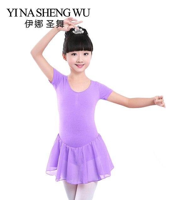 girls-short-long-sleeve-gymnastic-leotard-font-b-ballet-b-font-dress-dancer-girl-kids-font-b-ballet-b-font-costumes-for-girls-dance-leotard-girl-dancewear