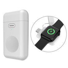 For Apple Watch 1 2 3 4 Wireless Charger 1000mAH Micro USB 5V 1A Portable Mini Battery PowerBank For iWatch 1/2/3/4 Charger Base
