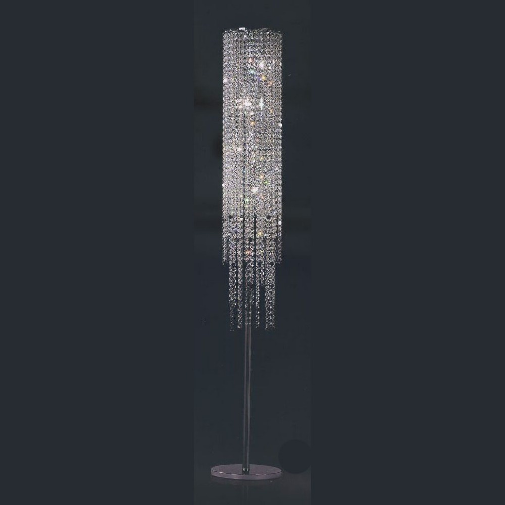 New Hot Sale Crystal Decorative Standing Lamps Modern