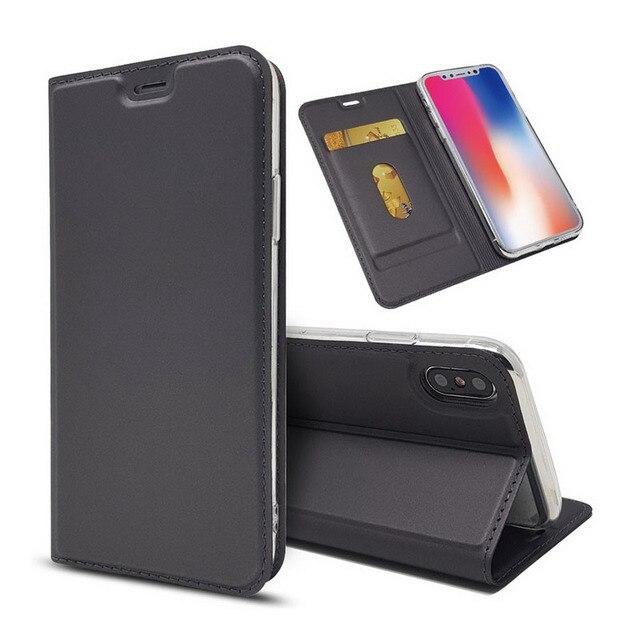 TPFIX Magnetic Lật Wallet Da Trường Hợp Đối Với iPhone 7 8 Cộng Với Trường Hợp Điện Thoại Siêu Mỏng Bìa Kinh Doanh Đối Với iPhone X XR XS Max 6 6 s 5 s