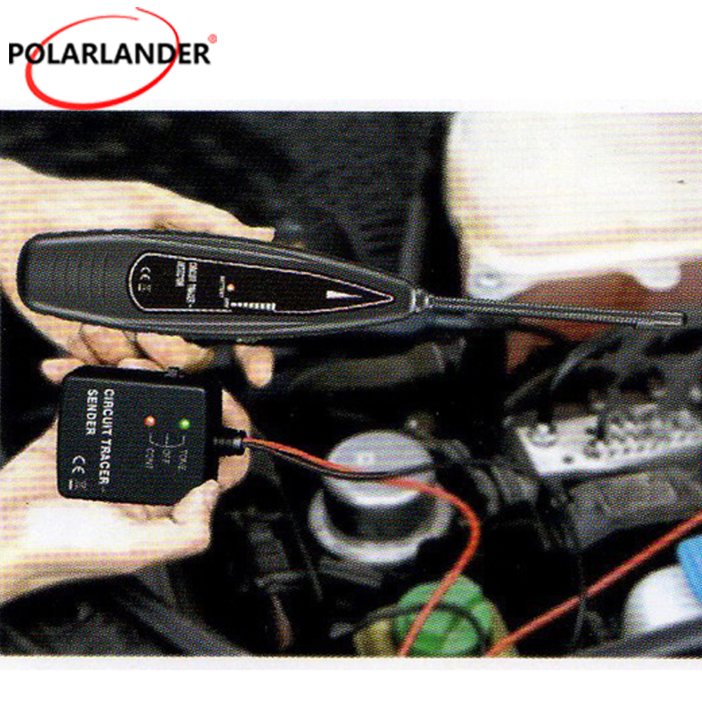 Veconor Polarlander Earphone Finder Electronic Stethoscope Detector Auto Open Circuit Detecter Short Cars Break Tester Tracer