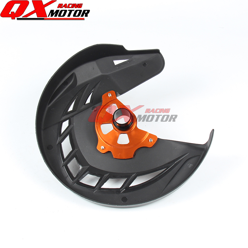 Motorcycle Front Brake Disc Rotor Guard Cover Protector Fit KTM SX SXF XC XCF EXC EXCF 125 200 250 300 350 450 530
