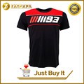 2017 New Fashion Summer MOTO GP 93 Marc Marquez T Shirt Men Motorcycle Short Sleeve T-shirt Casual Tees Motogp 93