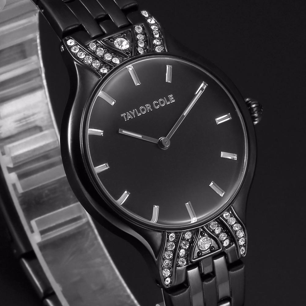b5f3a3509c6 descrição  esta muito atraente relógio de Senhora é Echo collection by Taylor  Cole. ...