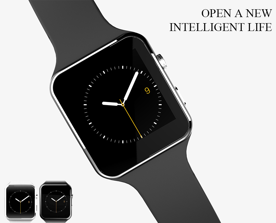 New Arrival X6 Smart Watch with Camera Touch Screen Support SIM TF Card Bluetooth Smartwatch for iPhone Xiaomi Android Phone 20