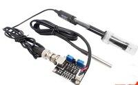 Para Arduino  medición del valor del PH con electrodo  sensor de PH  módulo de compensación de temperatura  kit de detección del valor del Ph