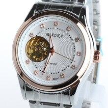 2016 ПОСЛЕДНИМ BIAOKA ЗОЛОТО механические часы Лучший Бренд автоматические часы мужчины 100 АТМ водонепроницаемый нержавеющей стали скелет reloj hombre