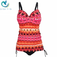 2017 New Arrival Large Swimwear Plus Size Women Swimsuit One Pieces Print Swimwear Sexy Hot Sale
