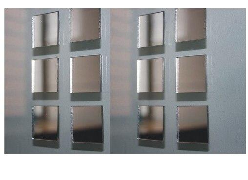 livraison gratuite 2 2 cm carr petit miroir autocollant. Black Bedroom Furniture Sets. Home Design Ideas
