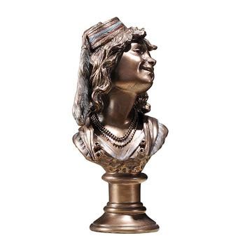 Decoración del hogar adornos cabeza arte decoración figura americana escultura gypsum escultura crafts Lu53114