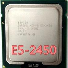 Intel Ксеон E5 2450 SR0LJ 2,1 GHz 8-ядерный 20 м LGA1356 E5-2450 Процессор процессор E5-2450