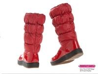 для-30 градусов женские ботинки зимние сапоги 2017 г. новая брендовая водонепроницаемая обувь женские теплые плюшевые меховые боты я
