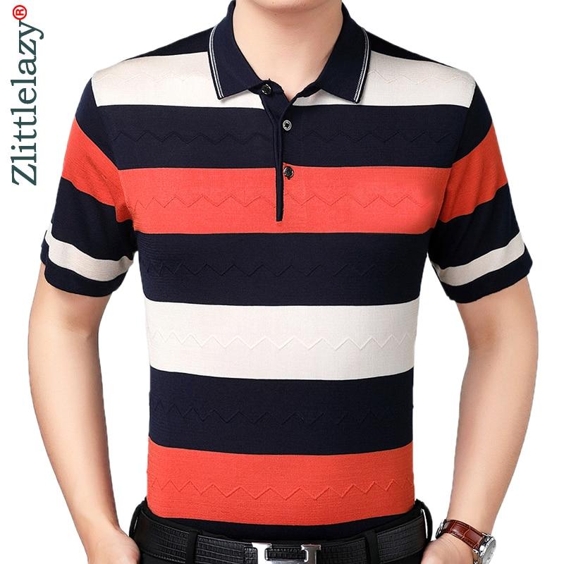 2019 brand casual summer striped short sleeve   polo   shirt men poloshirt jersey luxury mens   polos   tee shirts dress fashions 41618