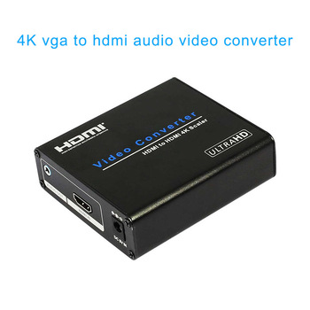 4K HDTV Audio Video Scaler VGA to HDMI 4K Converter Analog to Digital HDMI for PC Laptop DJA99