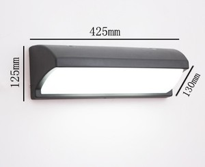 Image 4 - 30 w Led חיצוני מנורת גן הווילה חצר waterproof פמוטים קיר מנורת קיר חיצוני מרפסת כביש אור