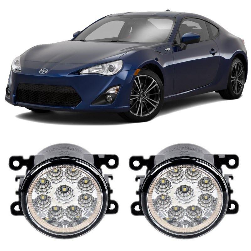 Car-Styling For Toyota 86 Scion FR-S 2013-2016 9-Pieces Led Fog Lights H11 H8 12V 55W Fog Head Lamp литой диск replica fr ty106 8 5x20 5x150 d110 2 et60 s