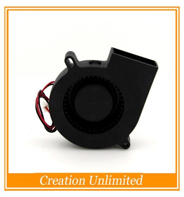 3D Принтер Кулер Вентиляторы Дельта 7525 12 В 0.36A турбореактивный вентилятор проектора 75*75*25 мм вентилятор охлаждения
