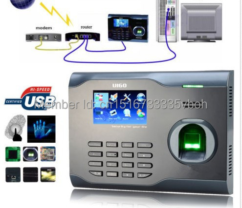 Stocked Zkteco U160 Biometric Fingerprint Reader Time