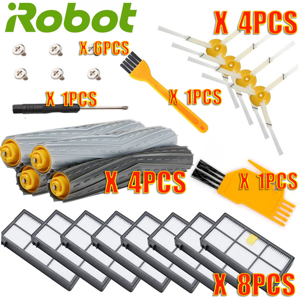 FILTERS Roomba-Parts Irobot 980-Brushes 885 866 For Kit-Series 800/860/865/..