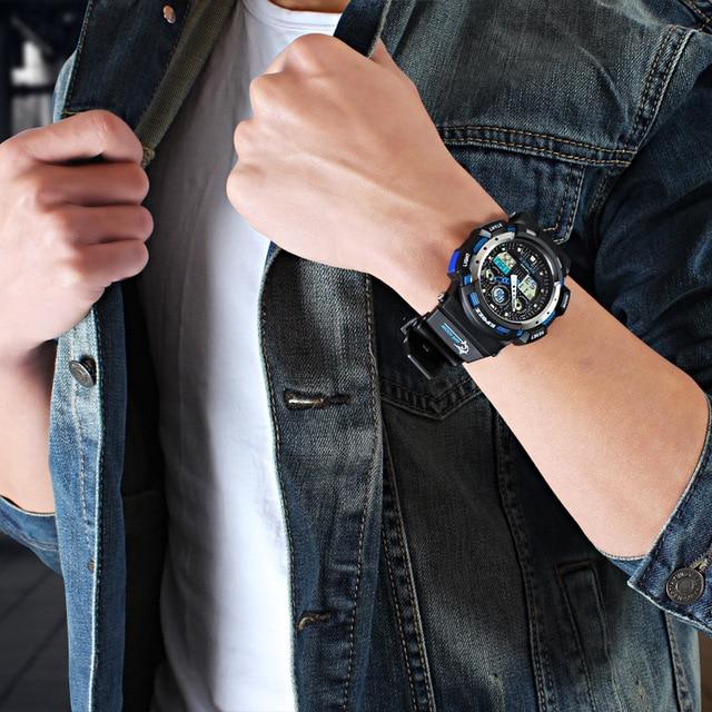 2017 white Color Fashion Digital Mens Watch S Shock G Style Analog Male Wristwatch EPOZZ Waterproof Dive Relogio Masculino E3001 4