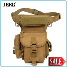 2016 Special Waterproof Drop Utility Thigh Pouch New Fashionable Military Waist Pack Weapons Tactics Outdoor Sport Ride Leg Bag
