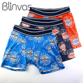 3pcs/lot Hot Sale Men Underwear Men's Boxer Comfortable Panties Sexy Cotton Shorts Male Underpants Cueca Masculina S to 8XL Size