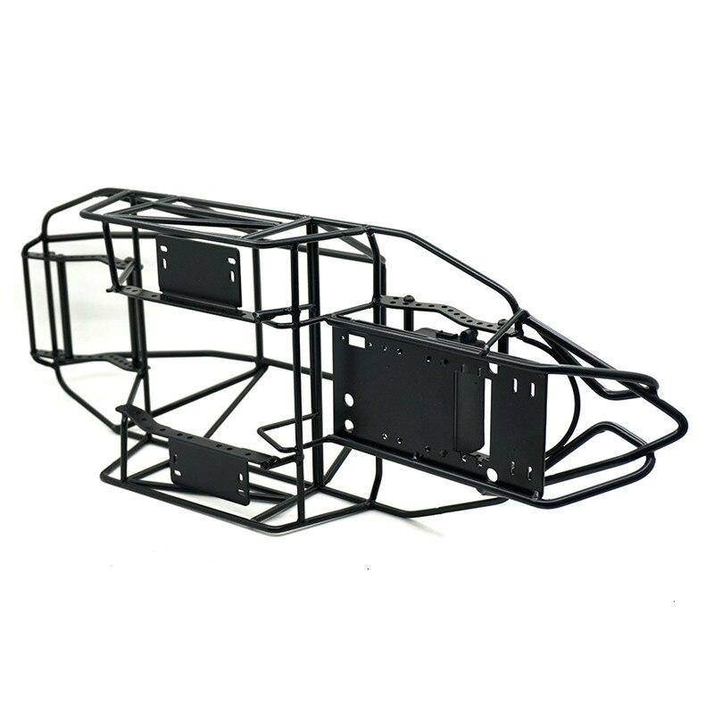 1 PC 1/10 RC voiture rouleau Cage cadre corps châssis Axial SCX-90046 RC roche chenille pièces de voiture noir
