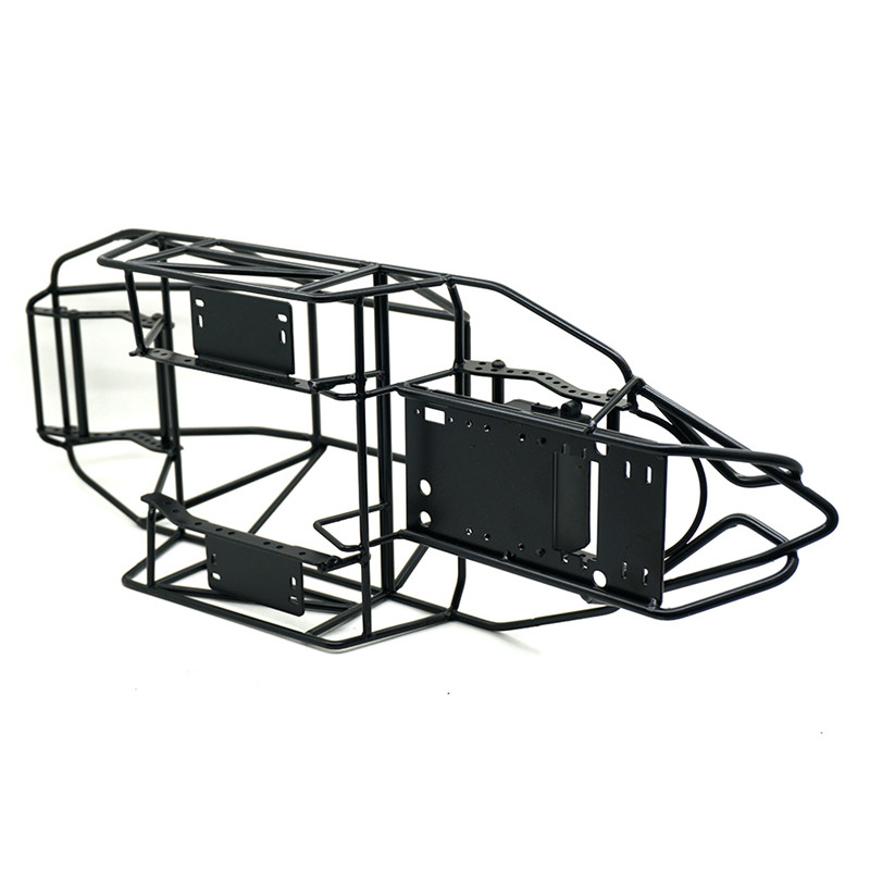 все цены на 1PC 1/10 RC Car Roll Cage Frame Body Chassis Axial SCX-90046 RC Rock Crawler Car Parts Black онлайн