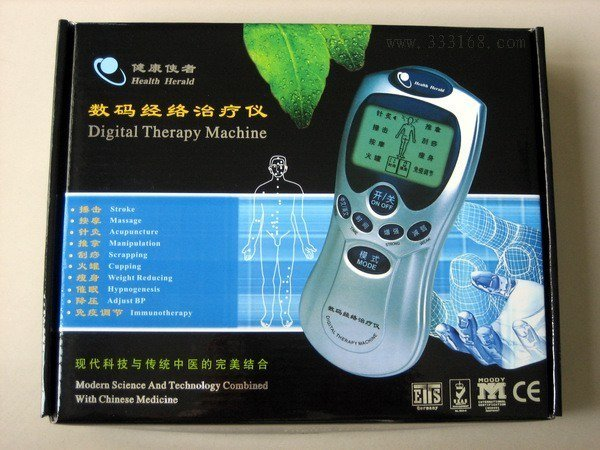 40Set/Lots Brand New Family Low Frequency Therapeutic Equipment Massager with retail box