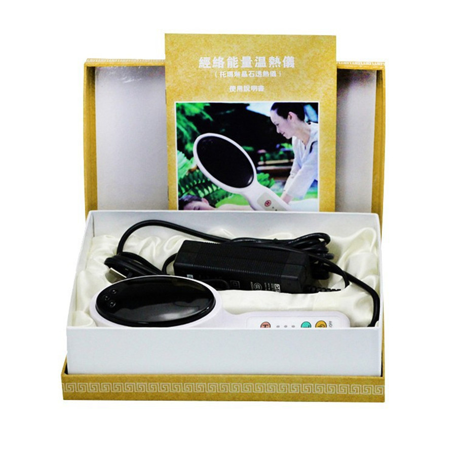 Warm Meridium Energy Machine tourmaline magnetic massager body relax heating massage tens therapy moxibustion Scraping