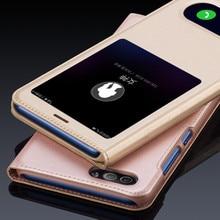 WeeYRN открытое окно PU кожаный флип чехлы чехол на телефон на Huawei Honor 9 lite(Хуавей Хонор 9 Лайт) корпус роскошный вид быстрый ответ крышка на для Huawei honor 9 lite чехол книжка