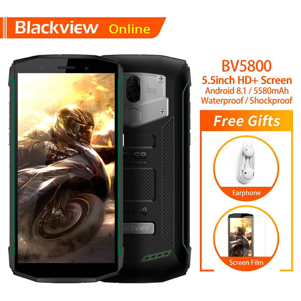 Blackview BV5800 IP68 Wasserdichte 5,5
