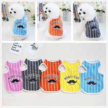 DOGBABY Cute Pet Dog Cats Clothes Soft Dogs Cat Shirt Fashion Clothing Summer Cotton Sweatshirt Pajamas Coats For Small Pets