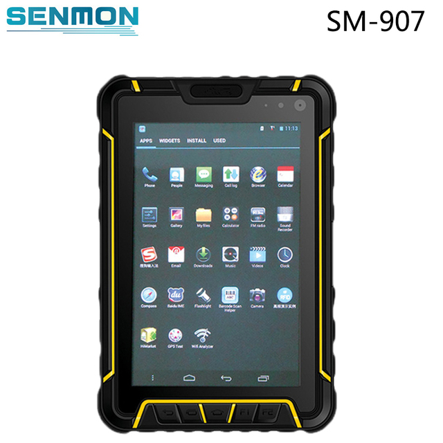 7 Inch Lcd Touch Screen Rugged Tablet Android Smartphone Ip67 With 4g Wifi Gsm