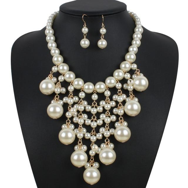 Big Pearl Jewelry Sets...