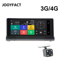 JOOYFACT E2 Dash Cam Car DVR GPS Navigation Navigator Camera 3G 4G Android 5 BT Registrar
