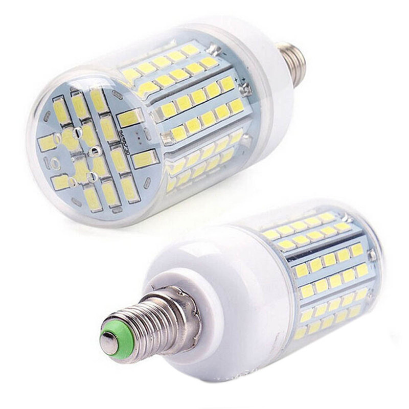 Wholesale LED corn bulb lamp E14 E27 B22 LED lamp 25W 2400 Lumens SMD 5730 Corn Bulb 220V led light E14 E27 led dimmable