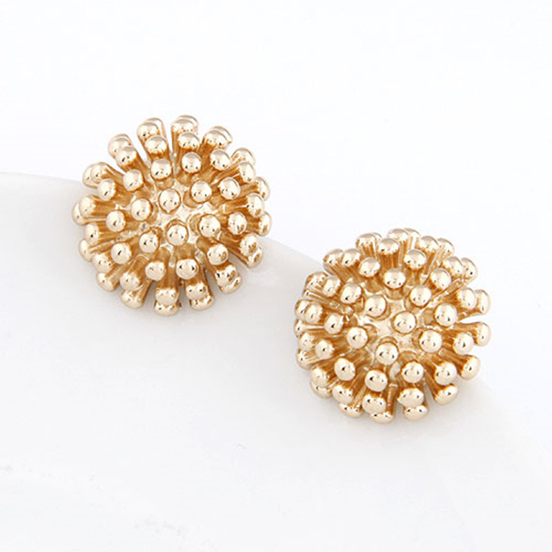 Fashion Luxury Punk Jeruk Gold Color Earring Fashion Jewelry For Women Accessories Boucle D Oreille
