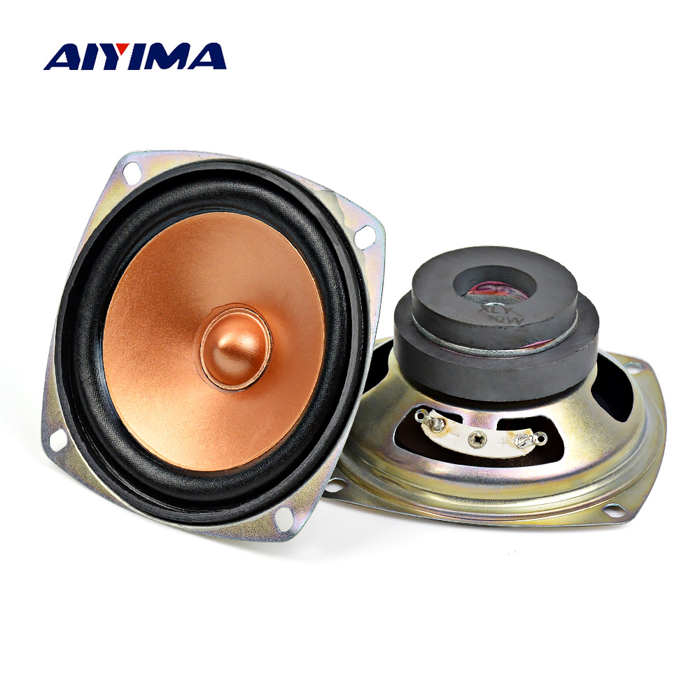 "2pcs 8ohm 10W Passive speakers 2/""inch ultra-thin car bass compensation speaker"