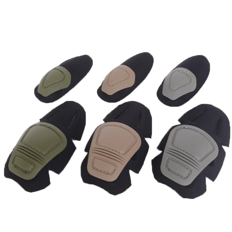 Paintball Airsoft Combat G3 Celana Seragam Perlindungan T-shirt Tactical Lutut dan Pelindung Pad Siku Set KNEE & ELBOW PADS