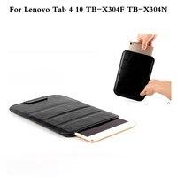 Fashion PU Leather Sleeve Case Cover For Lenovo Tab4 10 TB X304F TB X304N 10 Inch
