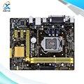 Para asus h81m-d plus original usado madre de escritorio de intel h81 Socket LGA 1150 Para i7 i5 i3 DDR3 16G SATA3 Micro-atx