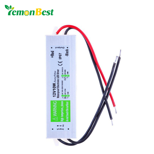 dc 12v 10w waterproof ip67 electronic led driver outdoor use powerdc 12v 10w waterproof ip67 electronic led driver outdoor use power supply led strip transformers adapter