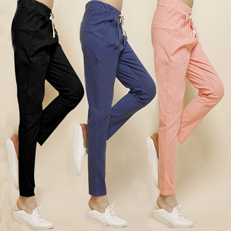 Harem pants and joggers are the definition of effortless dressing. They're comfortable and cool, yet perfectly polished. It's not every day that a casual style can translate to a look this instantly trendy.