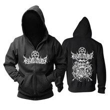 9 стилей, на молнии, тяжелый металл, демон, Thy Art Is Murder Robot, хлопок, рок, черный, толстовки, куртка, панк, hardrock, толстовка, куртка